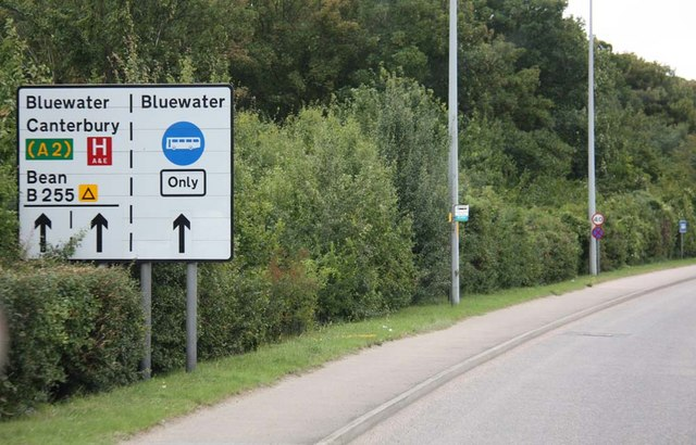Sign to Bluewater