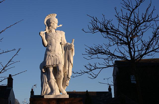 Hadrian statue, Brampton
