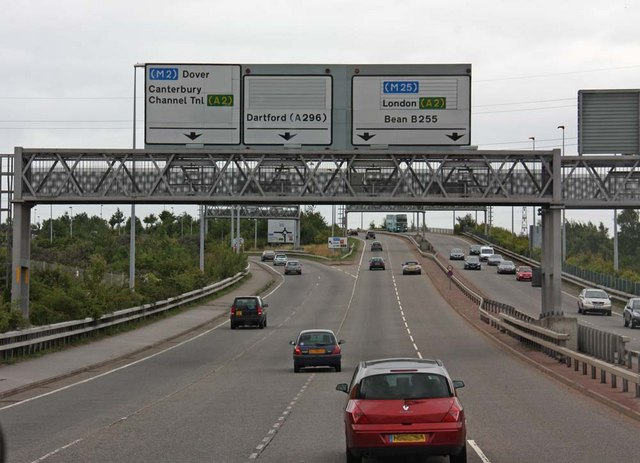 B255 and A2 junction