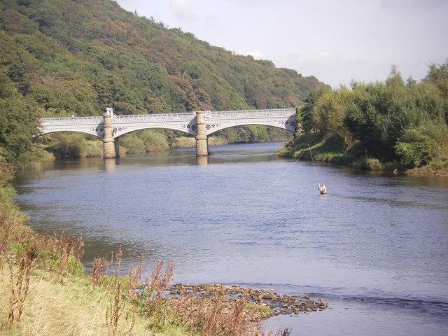 Waterworks Bridge over the River Lune