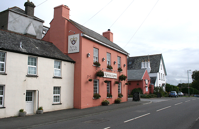 Yealmpton: The Rose and Crown
