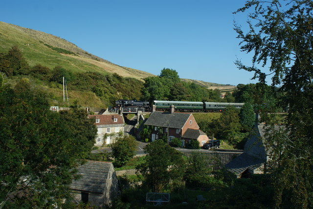 Swanage Railway From Corfe Castle
