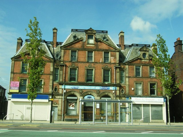 The former Sheffield and  Hallamshire Bank,  Wicker,  Sheffield