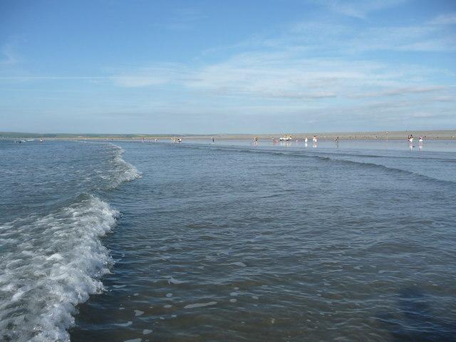 Westward Ho! : The Sea, Sandy Beach & Coastline