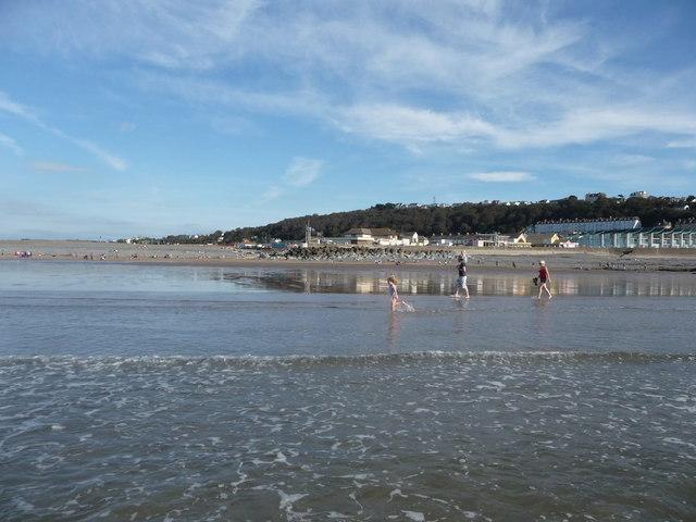 Westward Ho! : Breaking Wave, Sandy Beach & Coastline