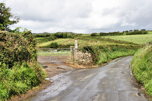Burrows Lane, north of Llangennith