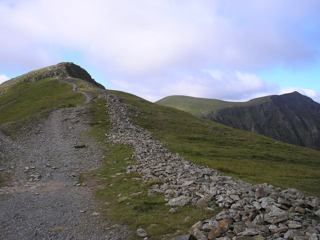 Looking to the Subsidiary Top, Hobcarton Crag