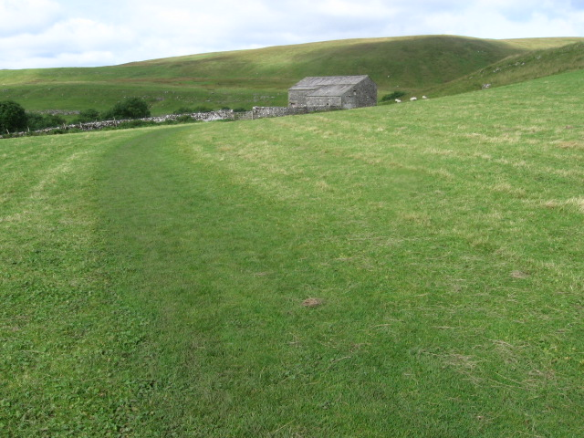 Footpath towards Crook Gill