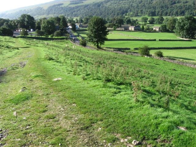 Footpath towards Buckden