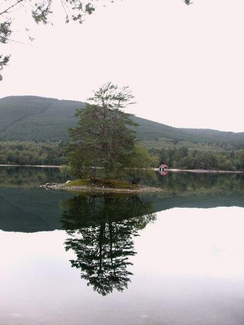 Crannog on Loch Vaa