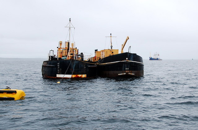 Salvage Barges