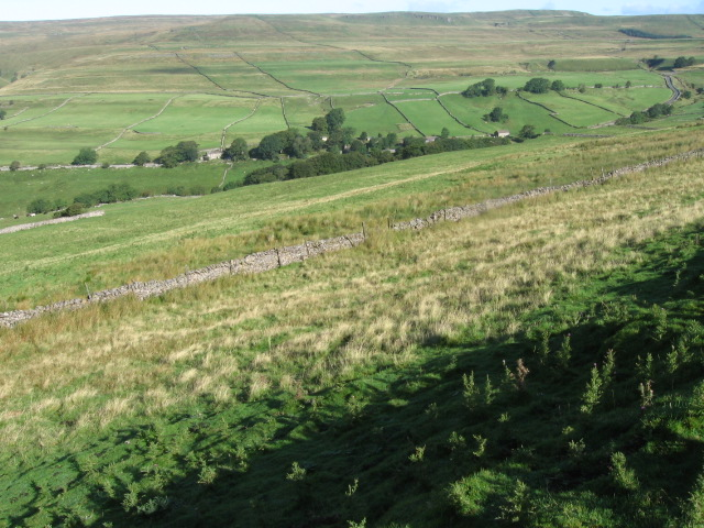 Towards Cray from Buckden Out Moor
