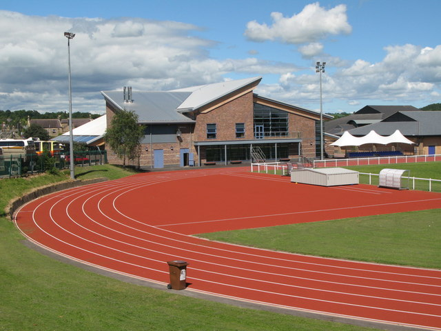 Wentworth athletics ground and new swimming pool
