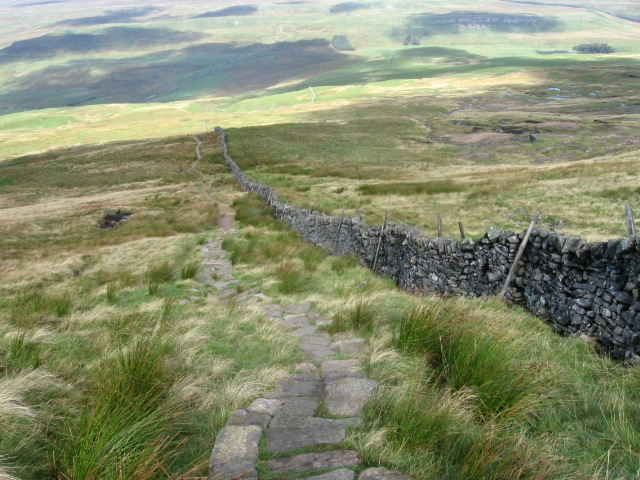 Footpath from Buckden Pike