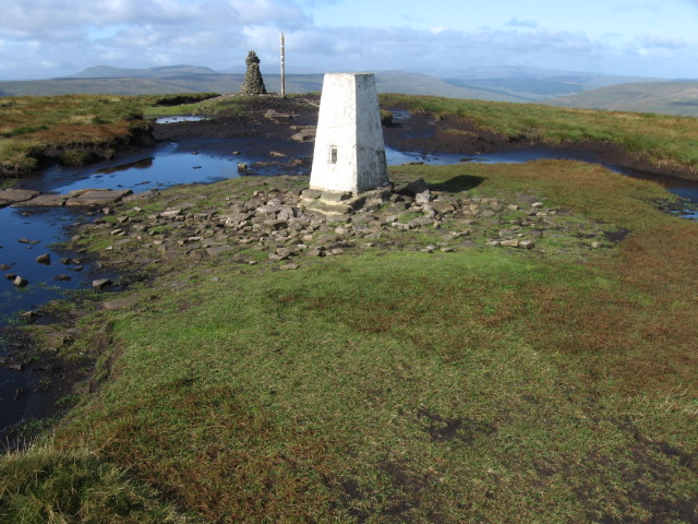 Buckden Pike trig point S5520