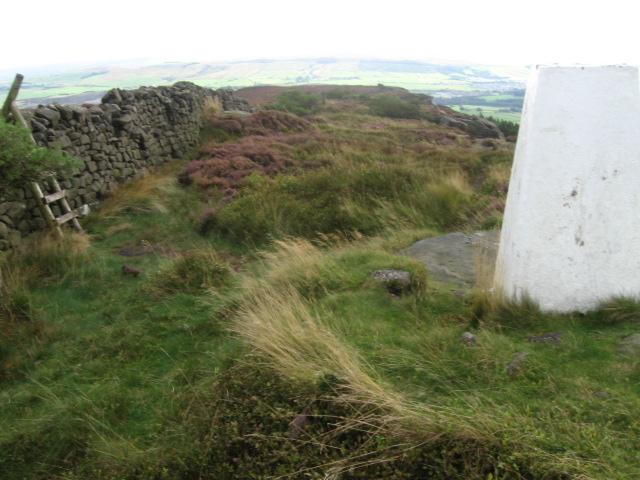 Crookrise Crag Top trig point S5781