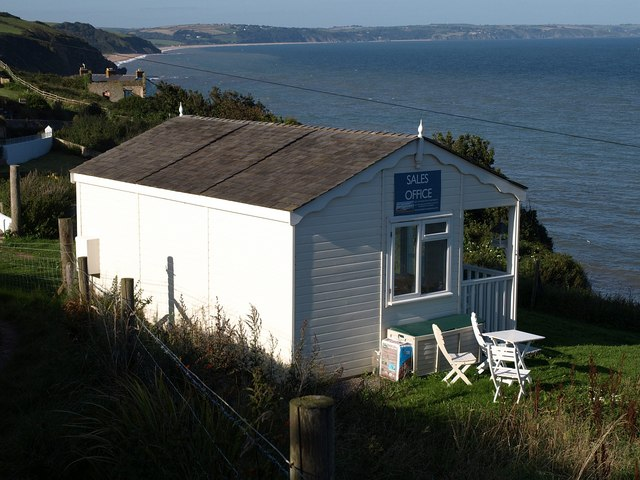 Sales office, Hallsands