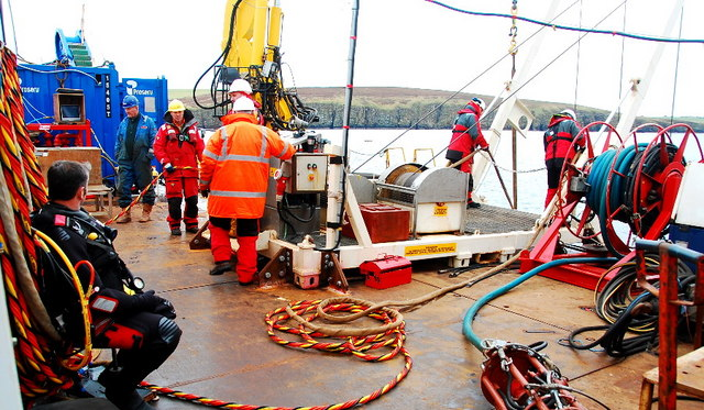 Activity on deck