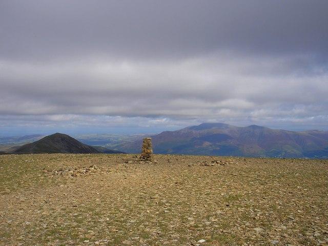 Nearing the Summit, Eel Crag