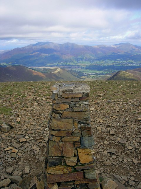 The Trig Point, Eel Crag 839m
