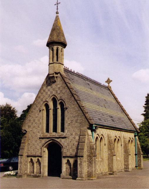 Basingstoke Cemetery Chapel, Wortin Road