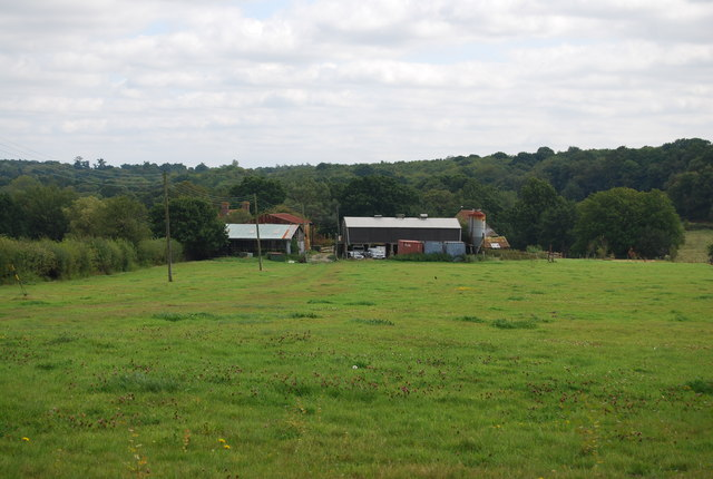 Brook Farm seen from the Tunbridge Wells Circular Path
