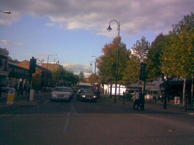 Streetlight replacement on Wanstead High Street