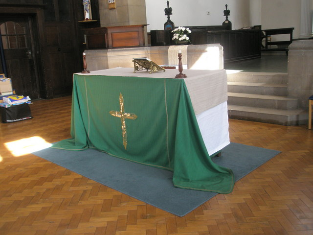 The altar at St Wilfrid's, George Street