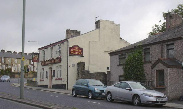 The General Williams (pub) 311 Manchester Road, Burnley, BB11 4HL