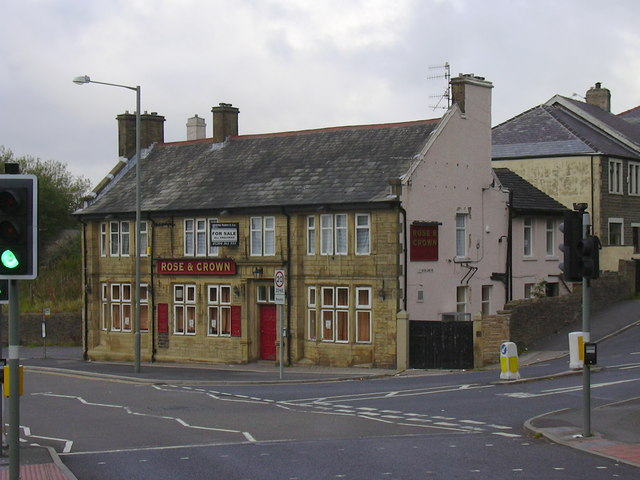 Rose & Crown Manchester Road Burnley Lancashire BB11 4HH