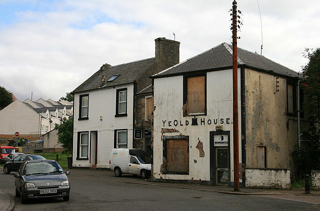 Ye Old Castle House in Dalmellington