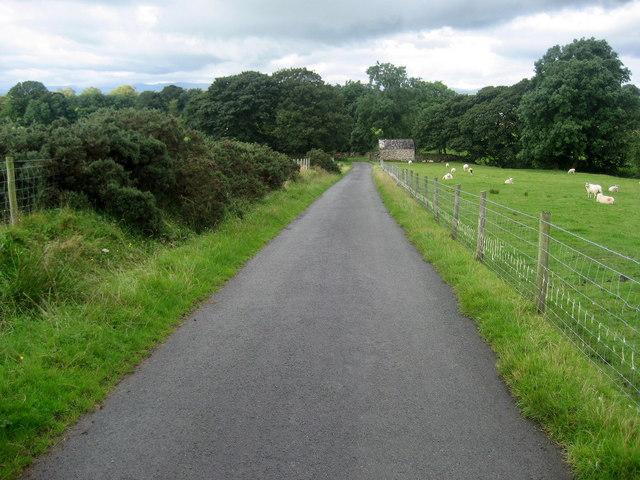 Pennine Way approaching Town Head