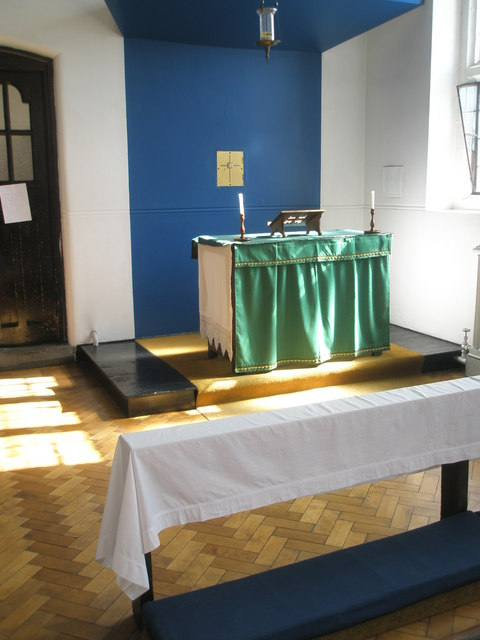 Side altar at St Wilfrid's, George Street