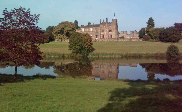 Ripley Castle reflections