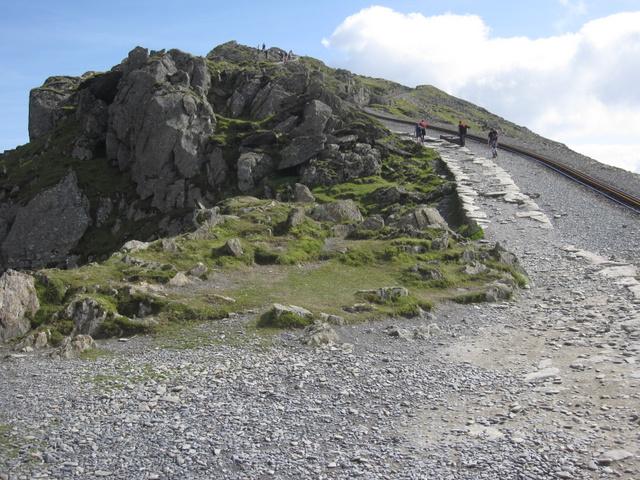 The path to the summit of Yr Wyddfa