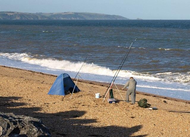 Fishing at Beesands