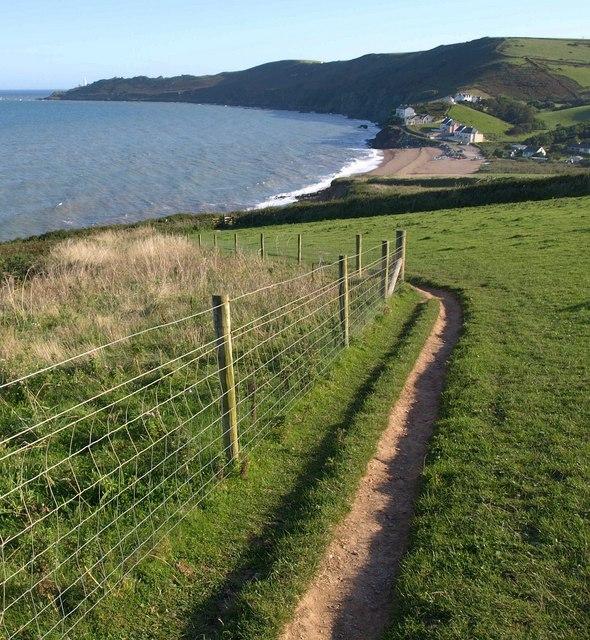 Coast path near Hallsands