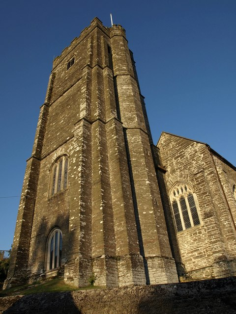 Tower, Stokenham church