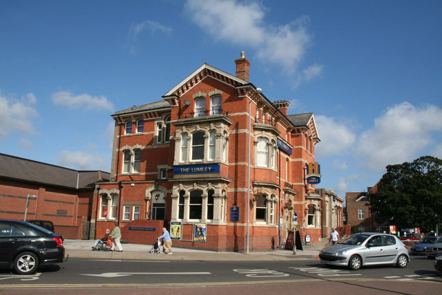The 'Lumley' public house, Skegness