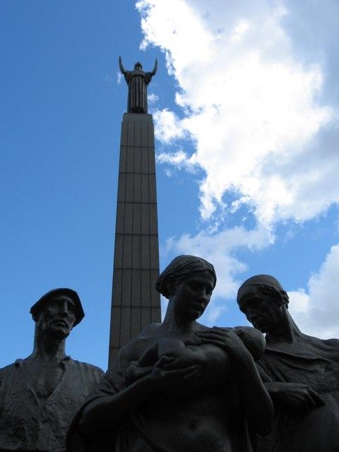 The Leverhulme Memorial at Port Sunlight