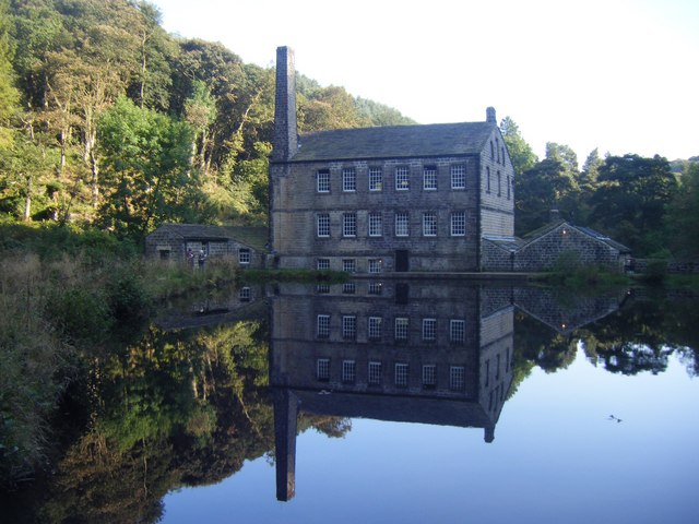 Gibson Mill - Reflected in the Mill Pond