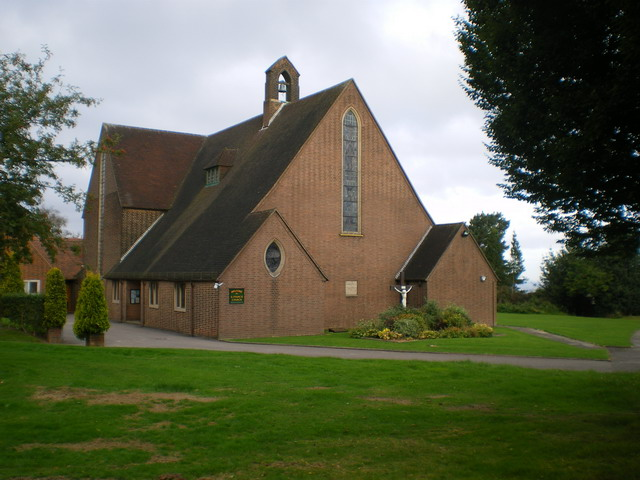 The church of St Francis of Assisi, Meir Heath