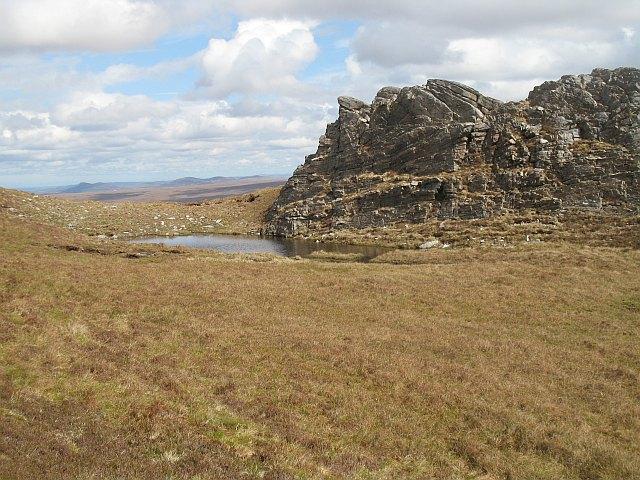 Crag, An Lèan-Chàrn