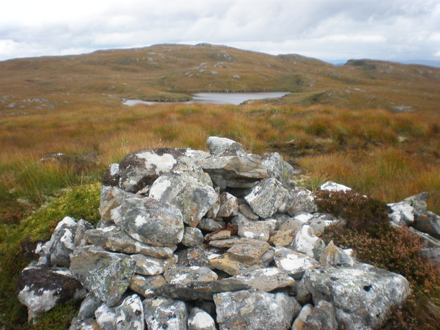 Loch Tarsuinn from Carn Tarsuinn