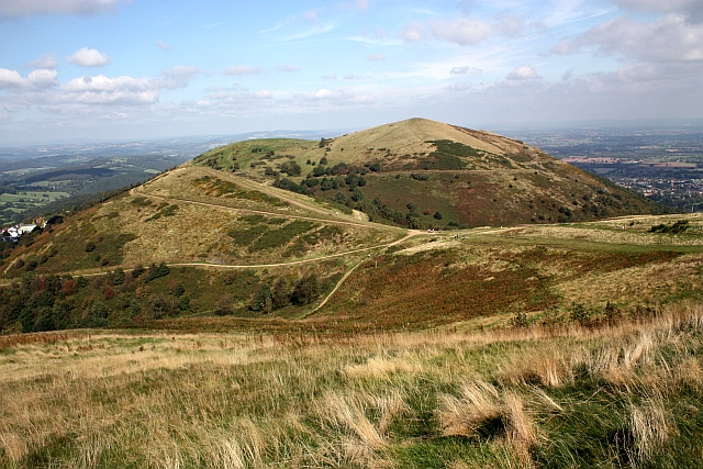 Sugarloaf from Worcestershire Beacon