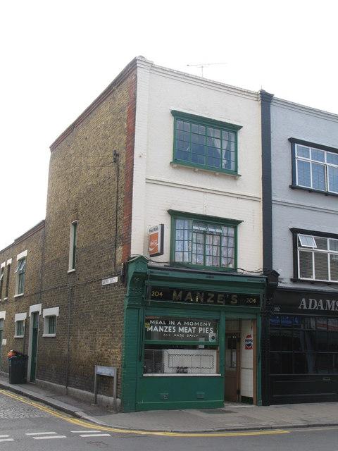 Manze's, Deptford High Street, SE8