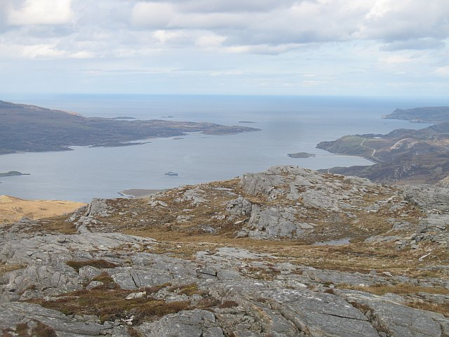 Summit area, An Lèan-Chàrn