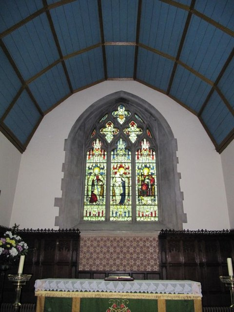 Window by the altar