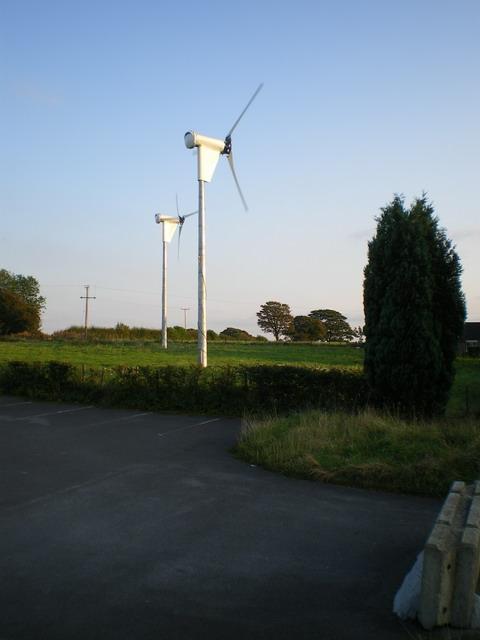 Wind turbines at Cellarhead