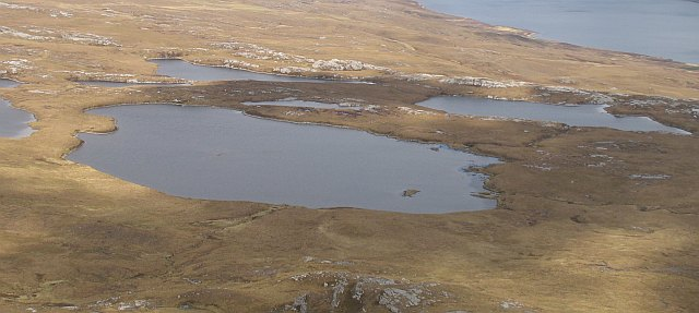 Lochans below An Lèan-Chàrn